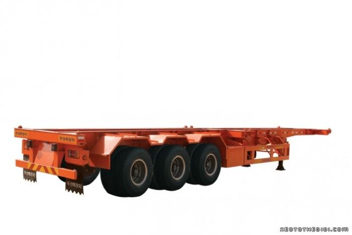 Bán Rơ Mooc Xương 3 trục 33.5 tấn Giao ngay.