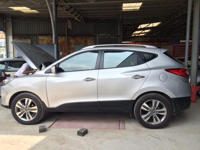 Hyundai Tucson sản xuất năm 2014 Số tự động Động cơ Xăng