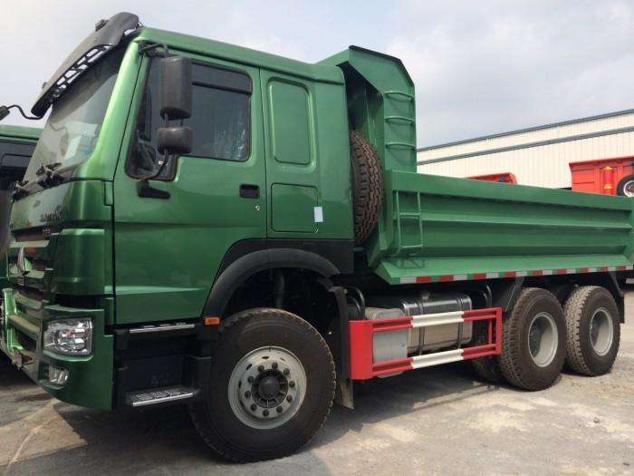 Xe tải ben HOWO 6x4 - Thùng dày 4/6 mm  giá rẻ tại hà nội