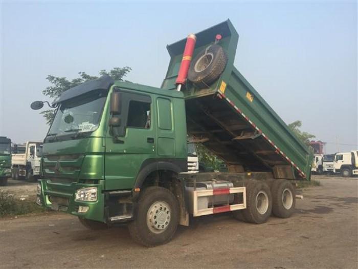 Xe tải ben HOWO 6x4 - Thùng dày 10/14 mm giá rẻ tại hà nội 0