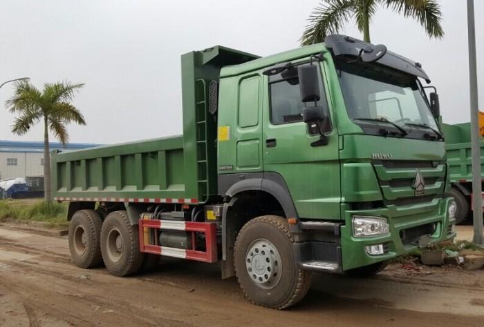 Xe tải ben HOWO 6x4 - Thùng dày 8/10 mm giá rẻ tại hà nội 0