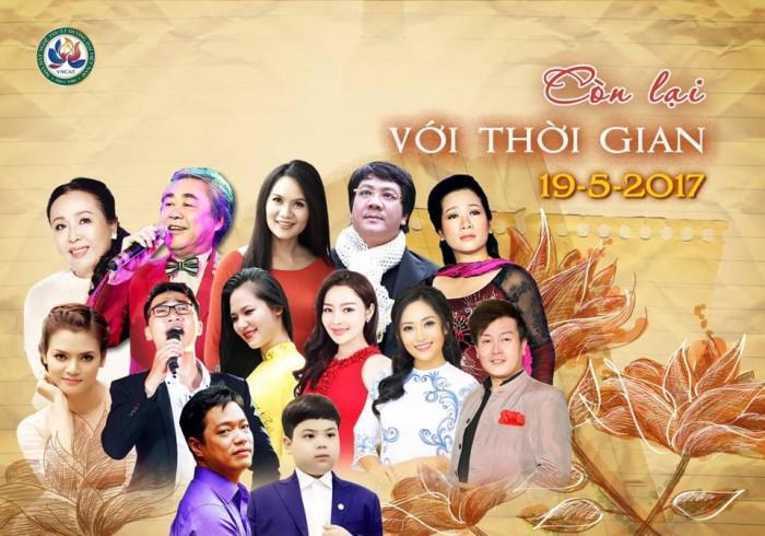 [TOP SHOWS] Bán vé đêm nhạc Thu Hiền, Phương Thảo, Quang Thọ Còn mãi với thời gian ngày 19/5