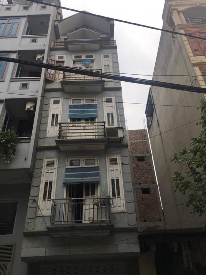 Bán nhà mặt ngõ oto Đường Chiến Thắng – Hà Đông 35m2 x 4.5 tầng 3,6 tỷ
