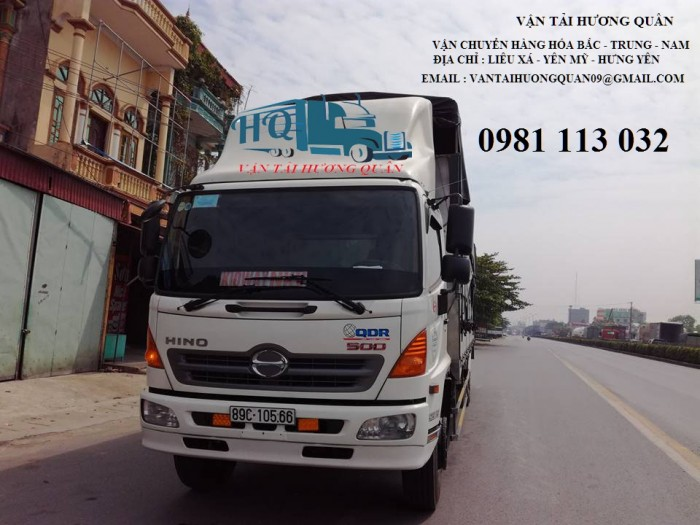Dịch vụ vận tải hàng hóa dọc tuyến QL1A vào HCM