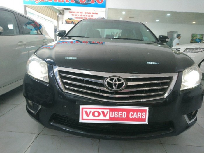 Toyota Camry 2.4G 2010 màu đen 0