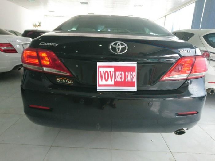 Toyota Camry 2.4G 2010 màu đen 9