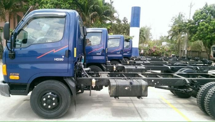 Xe tải Hyundai Mighty HD99 6.5 tấn, xe nhỏ tải lớn đang mang lại hiệu quả cao cho người làm vận tải