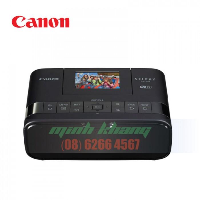 Máy in ảnh cá nhân Canon Selphy Cp1200 giá rẻ hcm   Minh Khang JSC3
