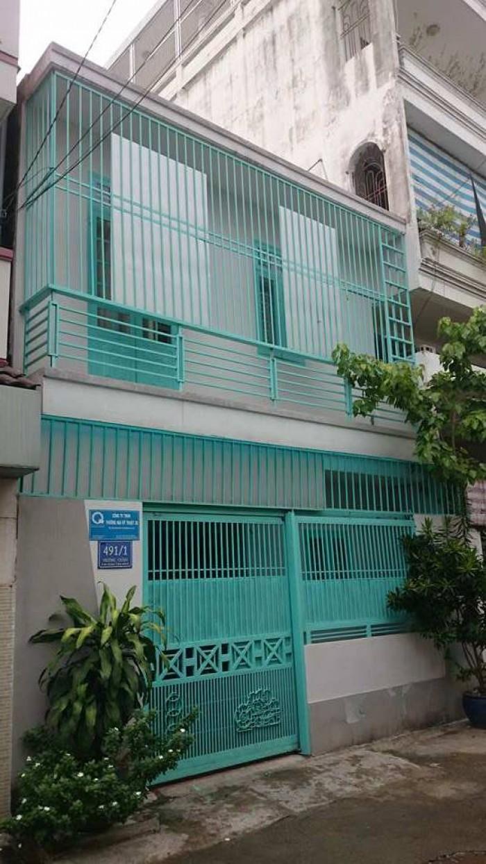 Bán nhà HXH 491 Trường Chinh,p.14 Tân Bình, 5,5x10, 2 tầng, 4,75 tỷ TL