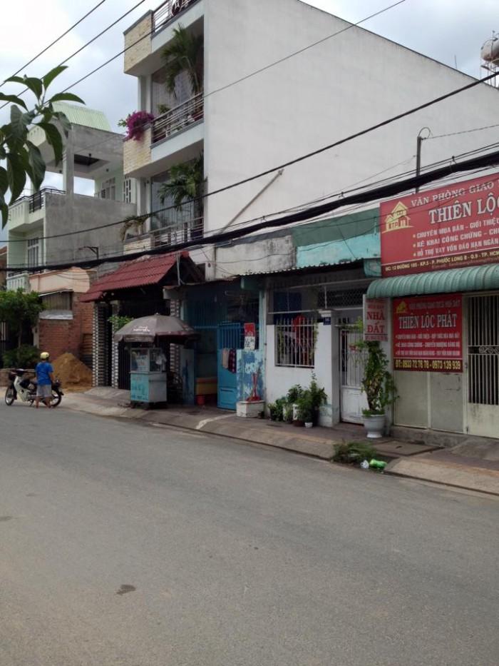 Bán nhà Mặt tiền Đường 185,Phước Long B,Quận 9,DT 41m2.Giá 1.98 tỷ.