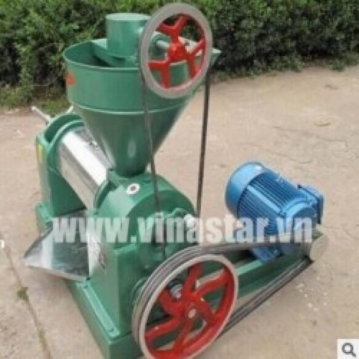 Máy ép dầu công nghiệp giá rẻ, dây chuyền máy ép dầu công suất lớn tại Hà Nội0