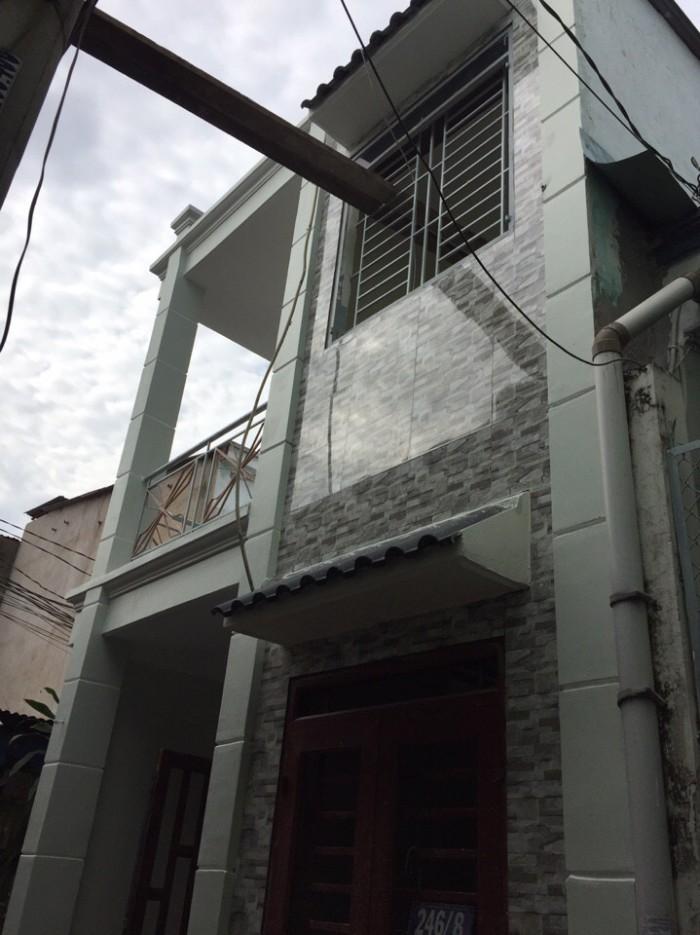 Bán Nhà Hẻm Kp3, phường Tân Thới Hiệp, Quận 12