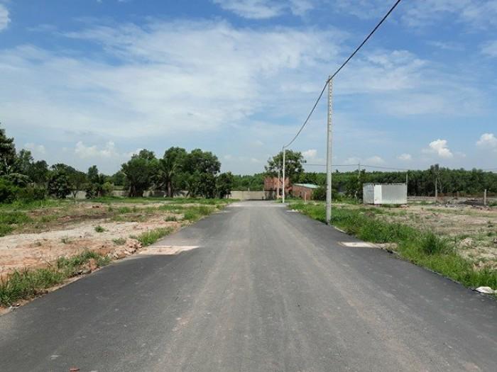 Đất chính chủ gần công ty Chanshing,khu dân cư Thạnh Phú