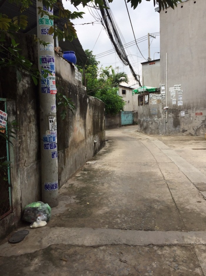 Bán Nhà Hẻm 4 m thông, đường Lê Văn Khương, phường Thới An, Quận 12