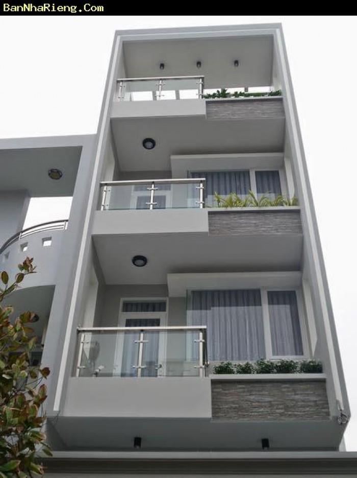 Bán nhà hẻm 611 Điện Biên Phủ, Q.3, DT:4x18m 1 trệt 3 lầu + St , 5 pn Giá 9 tỷ
