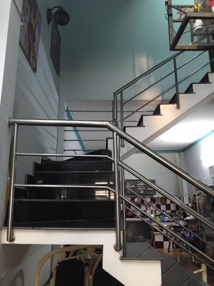 Cần bán nhà đường Võ Văn Vân nhà  đúc 1 trệt 1 lầu   xã Vĩnh Lộc B ,BC.DT 4.2x 24m .