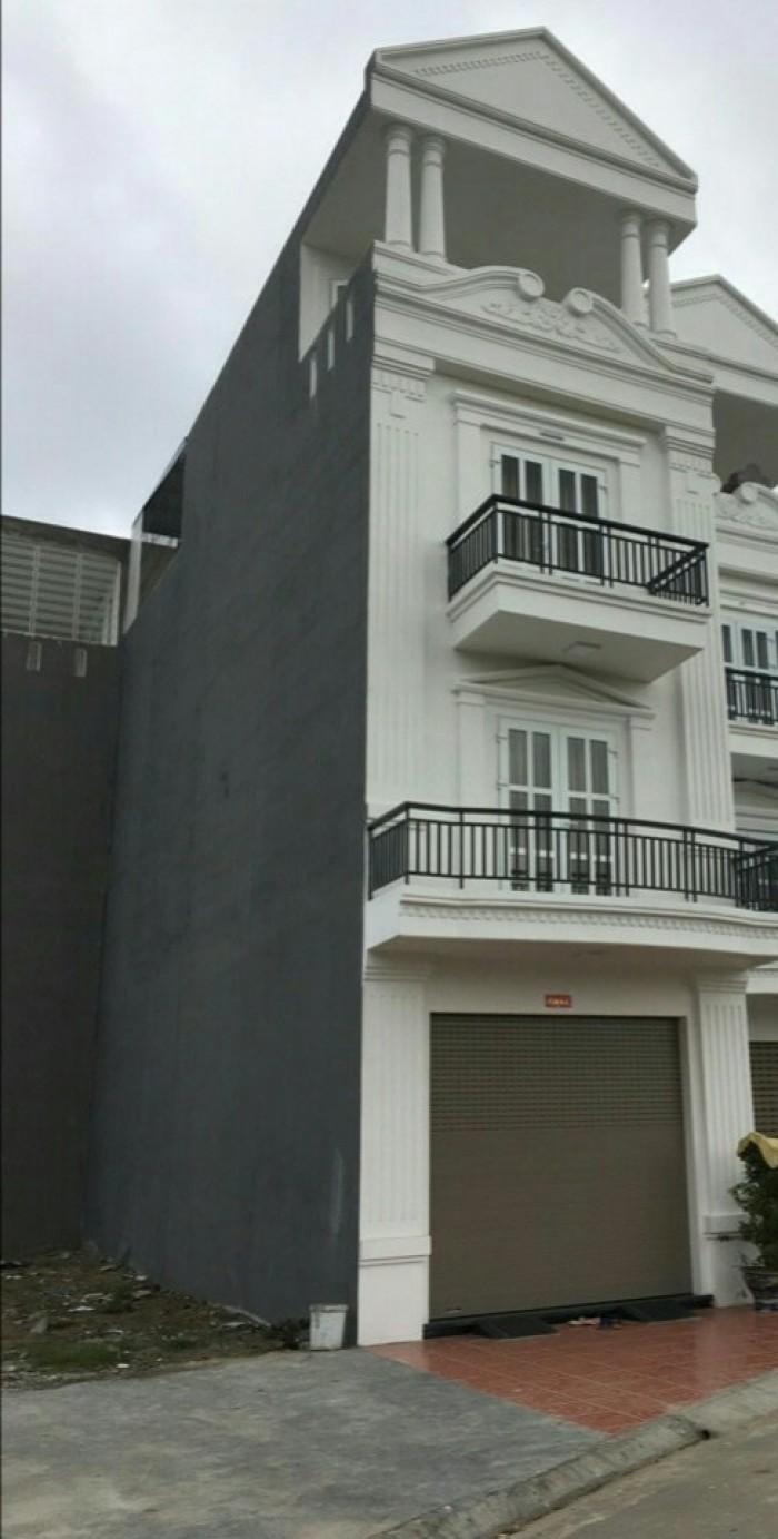 Bán nhà xây mới 4 tầng phủ thượng đoạn, dt 63m2 hướng bắc, ngõ 3m, cách đường 60m, giá 1.8 tỷ