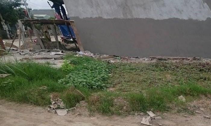 Bán nhanh lô đất ngay gần khu công nghiệp 2mt, 100m2, shr, củ chi