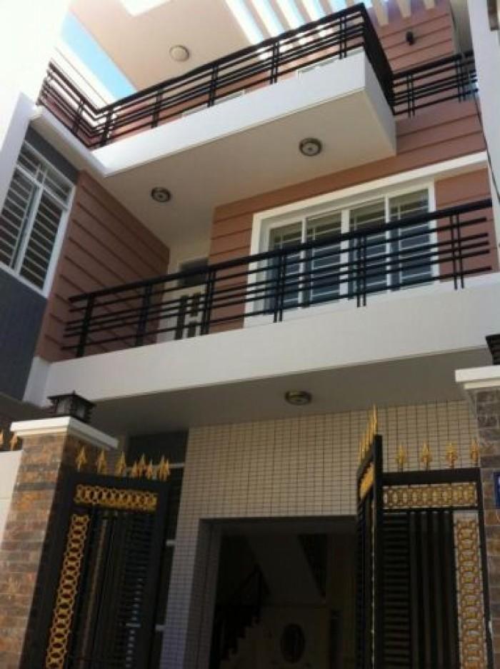 Cho thuê nhà 1 trệt 1 lầu , kdc 91b , nhà mới đẹp , đường b2 , giá 9 triệu