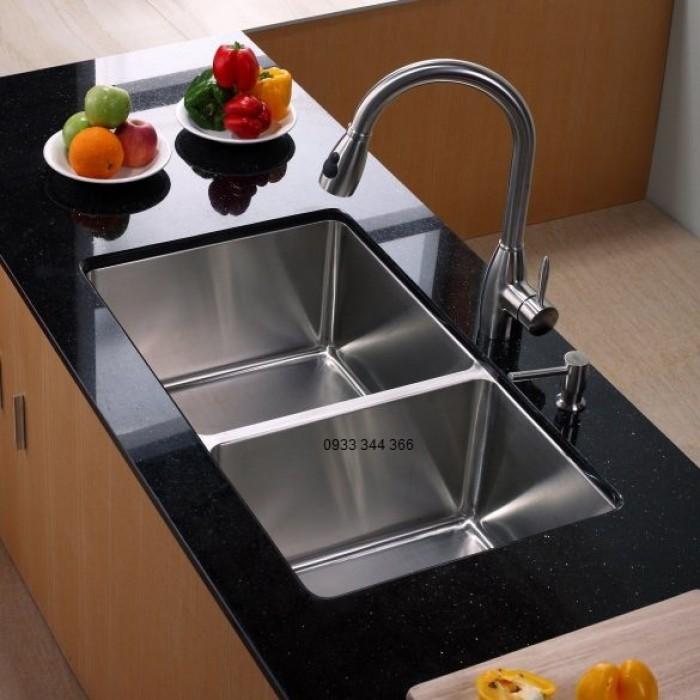 Cách lắp đặt chậu rửa chén inox âm bàn đẹp, chuẩn