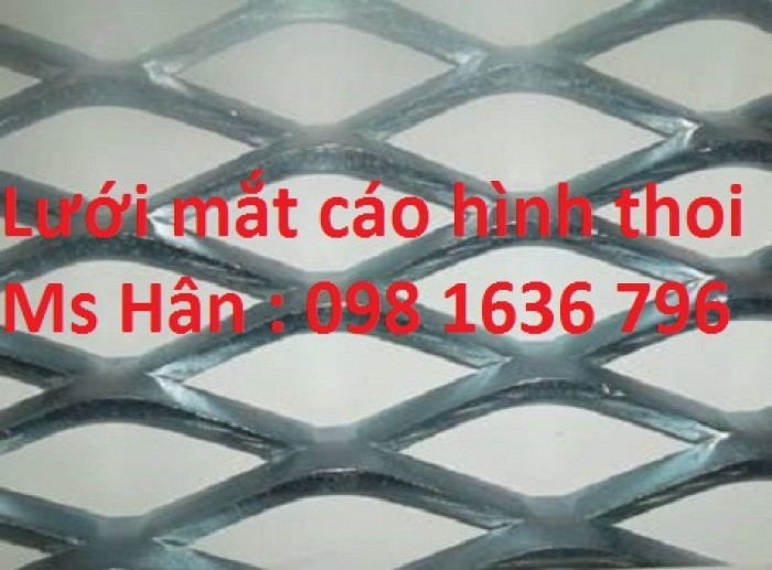 Lưới thép cho các công trình xây dựng lưới thép hình thoi 098 1636 796