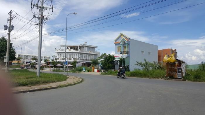 - Bán đất mặt tiền ngay tại trung tâm thể thao giải trí THÀNH LONG xã Phong Phú Bình Chánh DT 2500m2