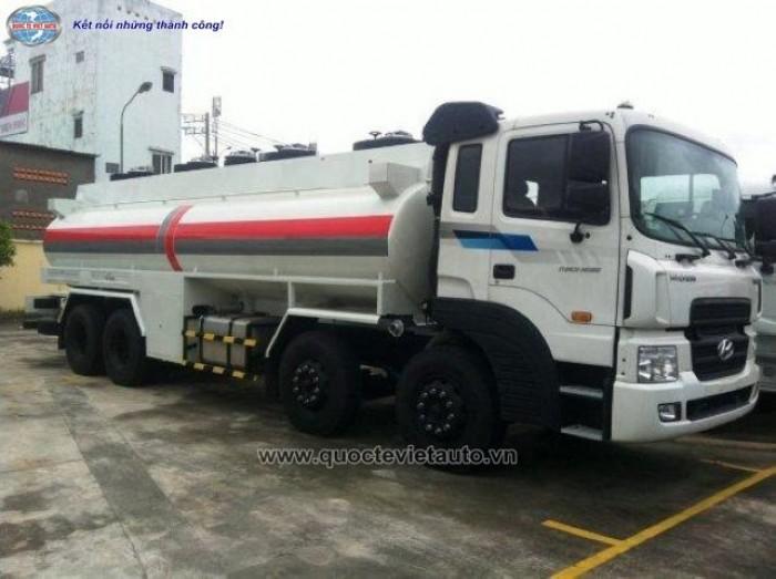 Bán xe xitec chở nhiên liệu Huyndai HD320 dung tích 22.000 lít 0