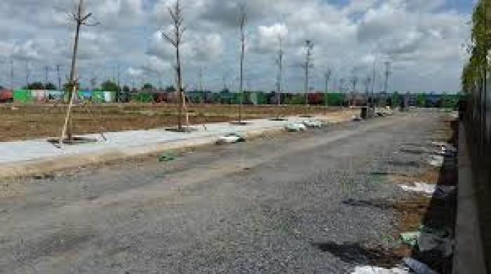 Đất thổ cư giá rẻ tại KCN MỚi ,giá 189 Triệu/nền, cách QL22  700m
