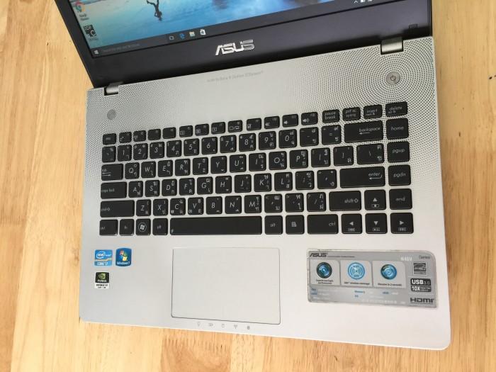 Laptop Asus N46V , i7 8G, 500G, Vga 2G , Audio Bang, Like new zin 100%