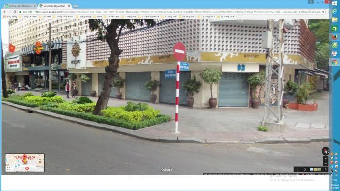 Bán nhà 63 Nam Kỳ Khởi Nghĩa phường Bến Thành quận 1 mặt tiền 11,5m