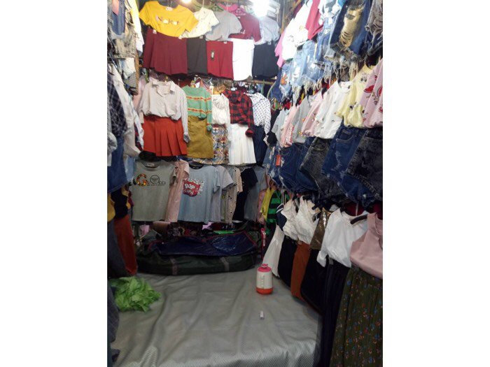 Sang sạp quần áo , chợ Minh Phụng , quận 6