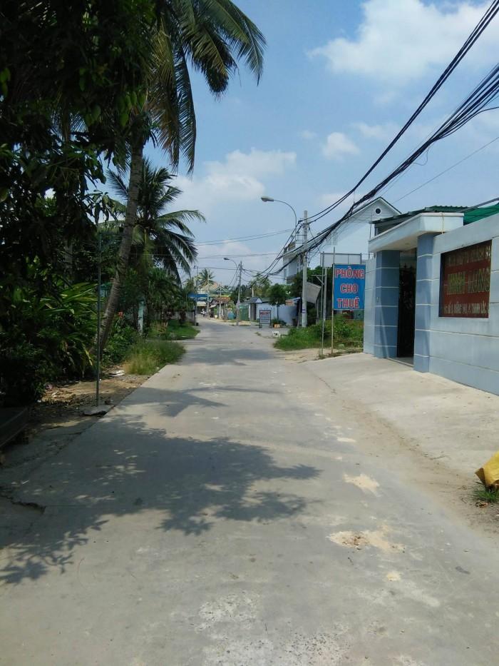Bán đất 2 mặt tiền đường Thạnh Lộc 49, DT: 7*50m, giá 4,1 tỷ SHR