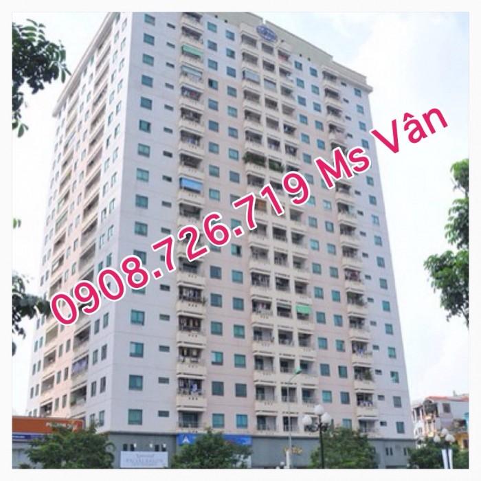 Cần cho thuê gấp căn hộ Contresxim Tôn Đản, Dt 76m2, 2 phòng ngủ, trang bị nội thất đầy đủ