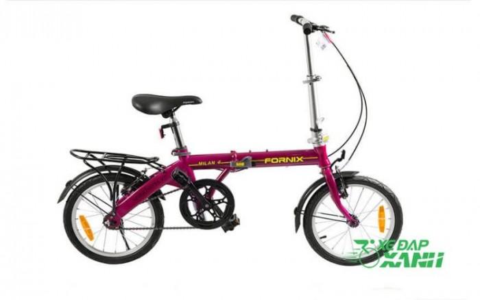 Xe đạp gấp Fornix Milan 4 chính hãng