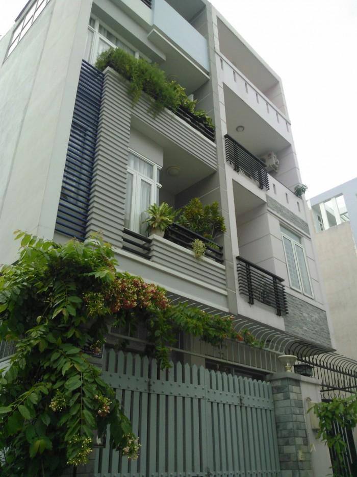 Bán nhà HXH Vườn Chuối 6,3x19m 5 tầng cực đẹp