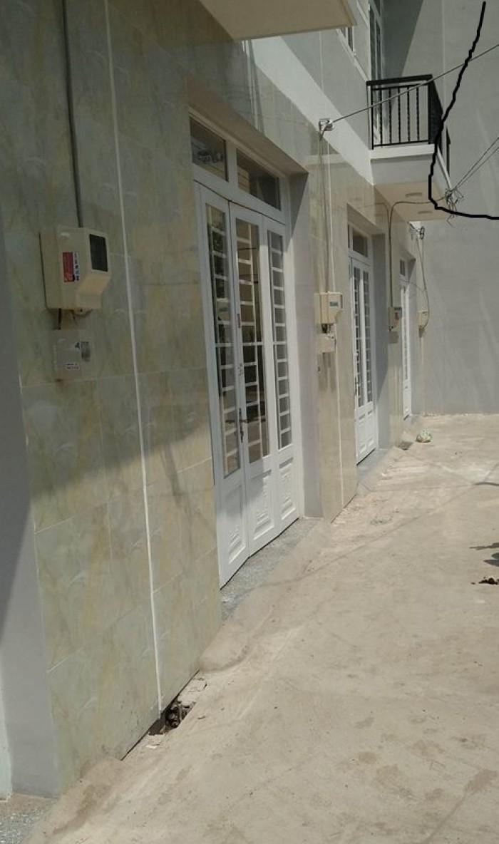 Bán nhà thi trấn Nhà Bè,DT 42 m2 giá 1,05 ty