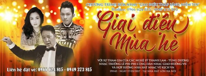 [MUA NHANH VÉ ĐẸP] Chương trình hòa nhạc Giai Điệu Mùa Hè - Thanh Lam, Tùng Dương