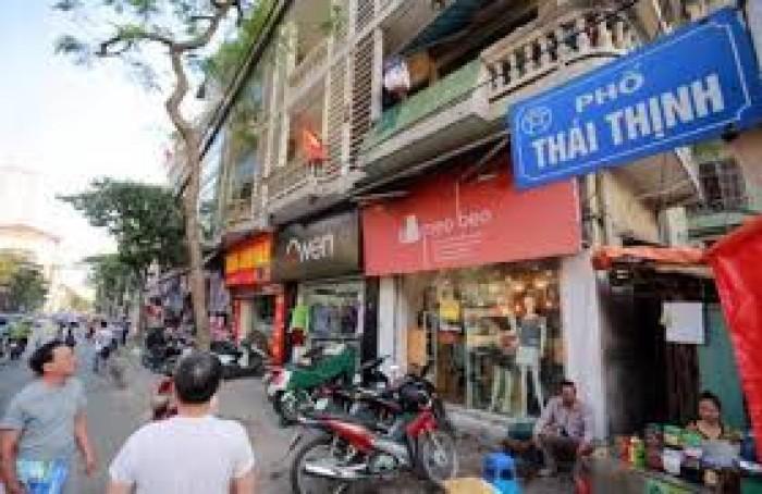 Bán Nhà phố Thái Thịnh.50m2.MT 3,4 m.KD sầm uất