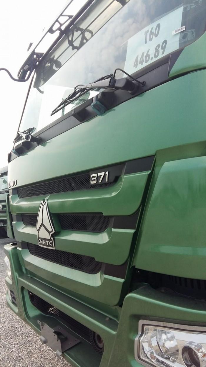 Xe tải ben 4 chân Howo động cơ 371 HP giá ưu đãi cực lớn 2