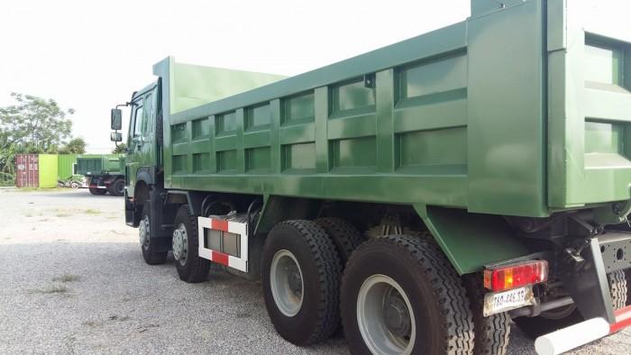 Xe tải ben 4 chân Howo động cơ 371 HP giá ưu đãi cực lớn 5