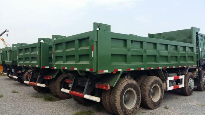 Xe tải ben 4 chân Howo động cơ 371 HP giá ưu đãi cực lớn 8