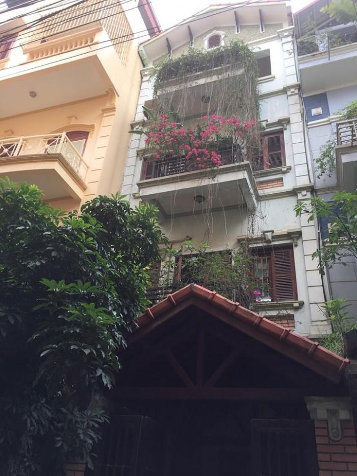Bán nhà phân lô đẹp phố Lạc Trung diện tích 92m2x 5 tầng, mt 5.3m.
