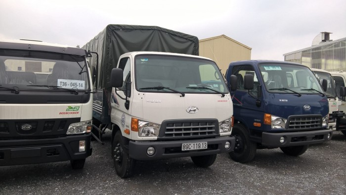 Xe tải hyundai hd800 tải 8 tấn
