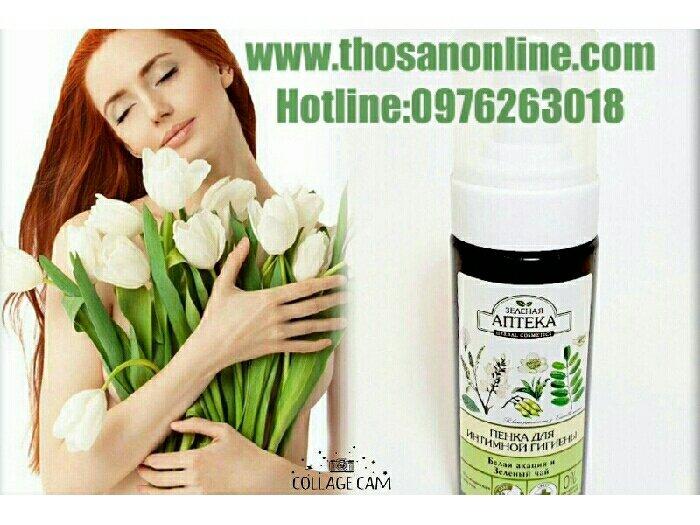 Nước rữa phụ khoa anteka green phamacy (