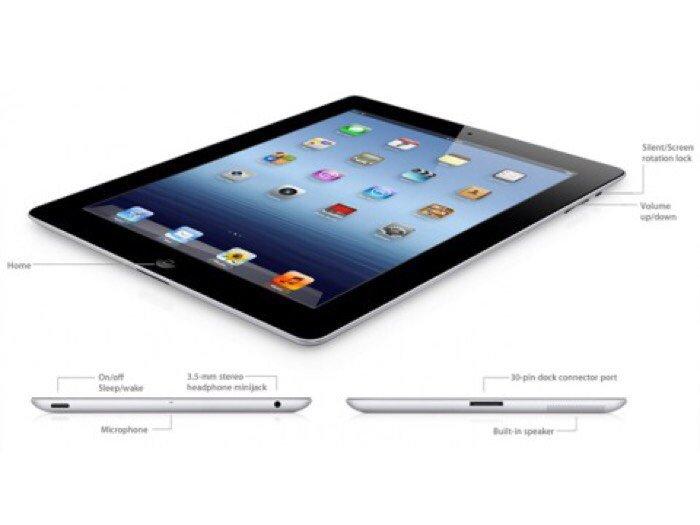 Apple ipad 3 - 64GB. Bản 3G & wifi.3