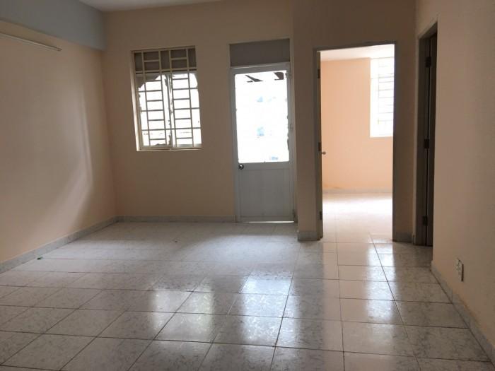 Cần cho thuê gấp căn hộ Lê Thành, Dt 60m2, 2 phòng ngủ, nhà trống, nhà rộng thoáng mát