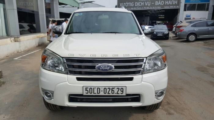 Bán Ford Everest Limited 2.5AT màu trắng 2013 biển Sài Gòn 6