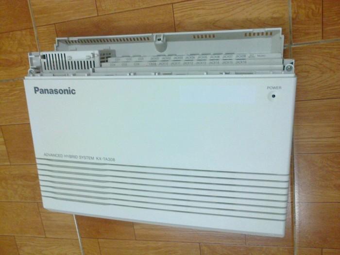 Tổng đài điện thoại Panasonic 3 vào 8 ra cũ bh 1 năm