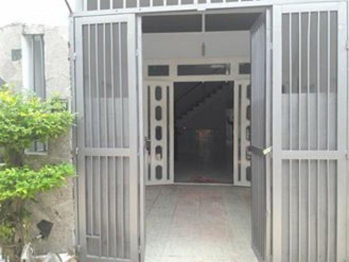Cần bán gấp nhà Lê Thị Dung, hẻm 4m, VLA, bc
