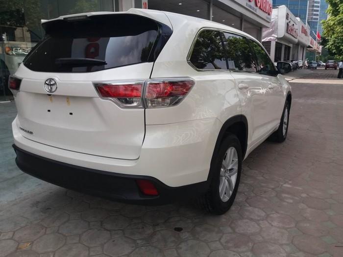 Toyota Highlander sản xuất năm 2016 Số tự động Động cơ Xăng